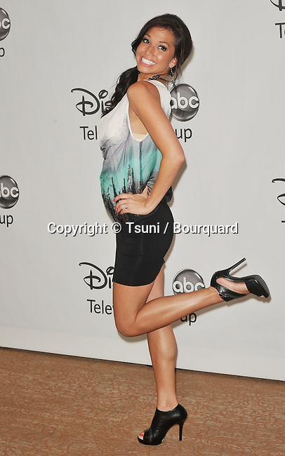 Melissa Rycroft<br /> ABC - Disney_ tca party at the Beverly Hiton Hotel in Los Angeles.