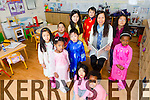 Kerry families and their Vietnamese children learning to speak Vietnamese  at the Castleisland Family Resource Centre on Saturday. Pictured Teacher Ha Hoang   with front l-r Lan O'Connor, Sunnite Giles, Lucy Giles, Meseret O'Brien, Thanh Creed, Josh Galsper, Marie Chau O'Brien, Bao Foley, Frances O'Connor, Debora Foley