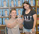 CORAL GABLES, FL - JUNE 09: Caspar Lee signs copies of his book 'Caspar Lee' at Books and Books on June 9, 2016 in Coral Gables, Florida. ( Photo by Johnny Louis / jlnphotography.com )