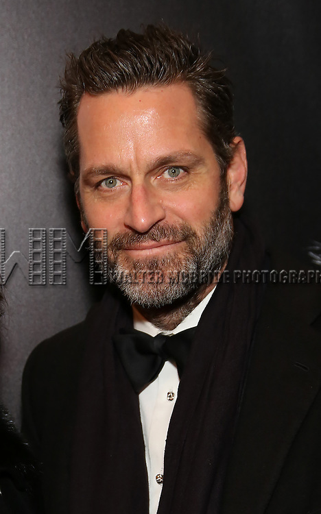 Peter Hermann attend the Broadway Opening Night of Sunset Boulevard' at the Palace Theatre Theatre on February 9, 2017 in New York City.