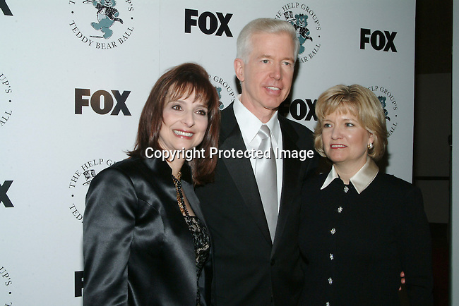 Dr. Barbara Firestone, Gray Davis &amp; wife Sharon Davis<br />