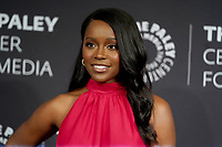 """19 November 2019 - Beverly Hills, California - Aja Naomi King. The Paley Center Celebrates The Final Season Of """"How To Get Away With Murder""""<br />  held at The Paley Center for Media. Photo Credit: Birdie Thompson/AdMedia"""