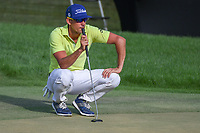 Rafael Cabrera Bello (ESP) looks over his putt on 18 during round 4 of the Arnold Palmer Invitational at Bay Hill Golf Club, Bay Hill, Florida. 3/10/2019.<br /> Picture: Golffile | Ken Murray<br /> <br /> <br /> All photo usage must carry mandatory copyright credit (© Golffile | Ken Murray)