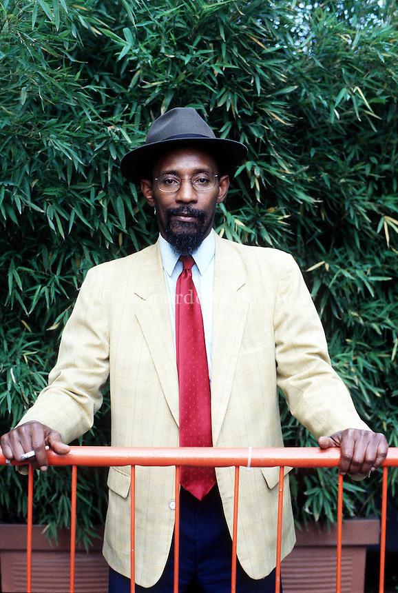 2000: LINTON KWESI JOHNSON, SINGER © Leonardo Cendamo