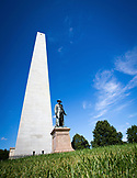 MASSACHUSETTS, Boston, Bunker Hill Monument, on the Path of the Freedom Trail