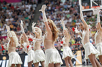 Cheerleaders during 2014 FIBA Basketball World Cup Round of 16 match.September 6,2014.(ALTERPHOTOS/Acero)
