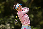 Golfer Cuixia Chen of China during the 2017 Hong Kong Ladies Open on June 9, 2017 in Hong Kong, China. Photo by Marcio Rodrigo Machado / Power Sport Images