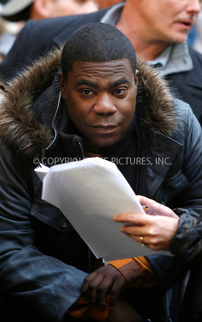 WWW.ACEPIXS.COM . . . . .  ....October 17 2011, New York City....Tracy Morgan on the set of the TV show '30 Rock' at the Rockefeller Center on October 17, 2011 in New York City.....Please byline: CURTIS MEANS - ACE PICTURES.... *** ***..Ace Pictures, Inc:  ..Philip Vaughan (212) 243-8787 or (646) 679 0430..e-mail: info@acepixs.com..web: http://www.acepixs.com