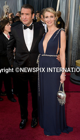 "OSCARS 2012 - JEAN DUJARDIN.84th Academy Awards arrivals, Kodak Theatre, Hollywood, Los Angeles_26/02/2012.Mandatory Photo Credit: ©Dias/Newspix International..**ALL FEES PAYABLE TO: ""NEWSPIX INTERNATIONAL""**..PHOTO CREDIT MANDATORY!!: NEWSPIX INTERNATIONAL(Failure to credit will incur a surcharge of 100% of reproduction fees)..IMMEDIATE CONFIRMATION OF USAGE REQUIRED:.Newspix International, 31 Chinnery Hill, Bishop's Stortford, ENGLAND CM23 3PS.Tel:+441279 324672  ; Fax: +441279656877.Mobile:  0777568 1153.e-mail: info@newspixinternational.co.uk"