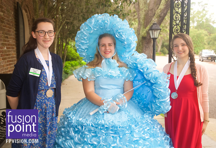 Distinguished Young Women Bellingrath Gardens Visit 2017.
