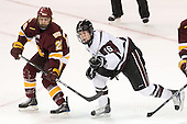 Wade Bergman (Duluth - 28), Kevin Sullivan (Union - 16) - The University of Minnesota-Duluth Bulldogs defeated the Union College Dutchmen 2-0 in their NCAA East Regional Semi-Final on Friday, March 25, 2011, at Webster Bank Arena at Harbor Yard in Bridgeport, Connecticut.