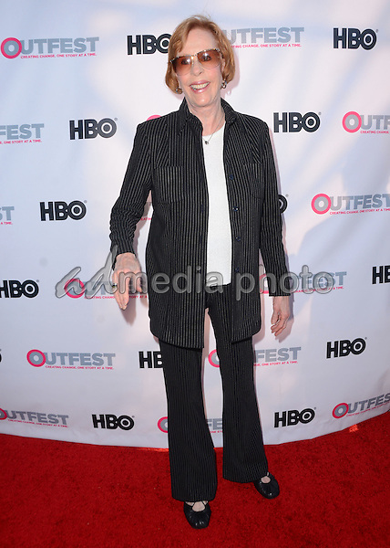 "11 July 2015 - West Hollywood, California - Carol Burnett. Arrivals for the 2015 Outfest Los Angeles LGBT Film Festival screening of ""Tab Hunter Confidential"" held at The DGA Theater. Photo Credit: Birdie Thompson/AdMedia"
