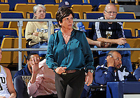 Florida International University Head Coach Cindy Russo during the game against Stetson University in the first round of the NIT.  FIU won the game 75-47 on March 15, 2012 at Miami, Florida. .
