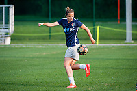 Kansas City, MO - Thursday August 10, 2017: Nora Holstad during a regular season National Women's Soccer League (NWSL) match between FC Kansas City and the North Carolina Courage at Children's Mercy Victory Field.