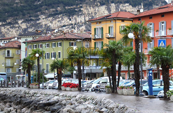 LAGO DI GARDA, ITALY - Views around the marina and harbour in Torbole on 17 October 2015 in Lago di Garda, Italy<br /> <br /> CAP/ROS<br /> &copy;ROS/Capital Pictures