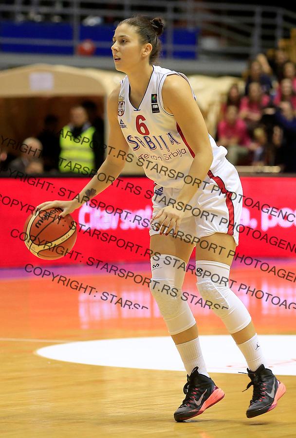 Kosarka- EuroBasket qualifiers 2017<br /> Srbija v Nemacka<br /> Sasa Cadjo<br /> Beograd, 21.11.2015.<br /> foto: Srdjan Stevanovic/Starsportphoto&copy;