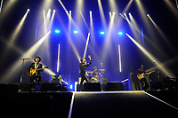 LONDON, ENGLAND - DECEMBER 2: Hugh Harris, Luke Pritchard, Alexis Nunez and Peter Denton of 'The Kooks' performing at SSE Arena on December 2, 2017 in London, England.<br /> CAP/MAR<br /> &copy;MAR/Capital Pictures /MediaPunch ***NORTH AND SOUTH AMERICAS ONLY***