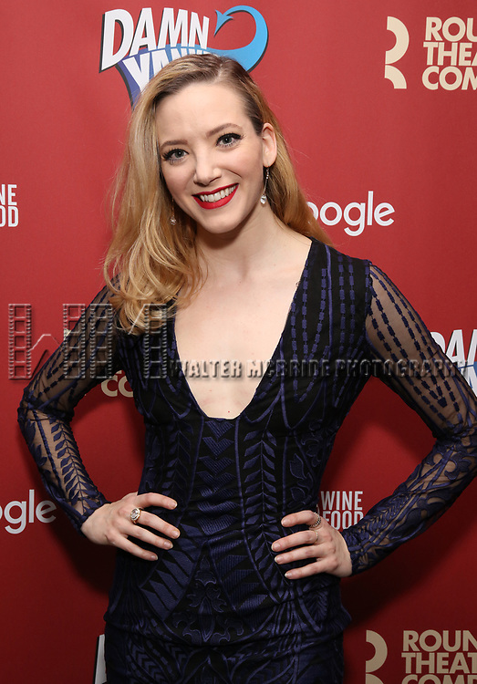 Samantha Sturm attends the cast party for the Roundabout Theatre Company presents a One-Night Benefit Concert Reading of 'Damn Yankees' at the Stephen Sondheim Theatre on December 11, 2017 in New York City.