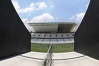 SAO PAULO, SP, 20.01.2014 - VISITA FIFA ARENA DE SAO PAULO -  Visita DA FIFA a Arena de São Paulo (Itaquerao) estádio que sediara a abertura da Copa do Mundo em Junho, na região leste de Sao Paulo, nesta segunda-feira, 20. (Foto: Vanessa Carvalho / Brazil Photo Press).