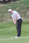 Day one of the Irish PGA championship at Seapoint Golf Club, Leo Hynes, Ballinstoe at the 9th green...Picture Jenny Matthews/Newsfile.ie