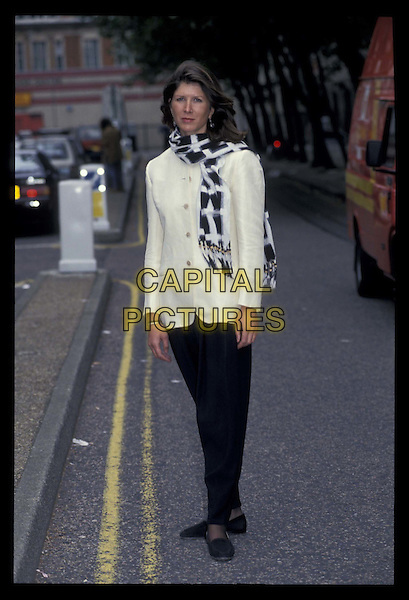 REBECCA STEPHENS.Ref: 708.scarf, full length, full-length.*RAW SCAN- photo will be adjusted for publication*.www.capitalpictures.com.sales@capitalpictures.com.©Capital Pictures