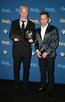 BEVERLY HILLS, CA - FEBRUARY 3: Martin McDonagh and Sam Rockwell  in the press room at the 70th Annual Directors Guild of America Awards (DGA, DGAs),  at The Beverly Hilton Hotel in Beverly Hills, California on February 3, 2018.  <br /> CAP/MPI/FS<br /> &copy;FS/Capital Pictures