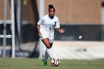 21 August 2016: North Carolina's Maya Worth. The University of North Carolina Tar Heels hosted the University of North Carolina Charlotte 49ers in a 2016 NCAA Division I Women's Soccer match. UNC won the game 3-0