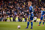 Celta de Vigo's Daniel Wass during Copa del Rey match between Real Madrid and Celta de Vigo at Santiago Bernabeu Stadium in Madrid, Spain. January 18, 2017. (ALTERPHOTOS/BorjaB.Hojas)