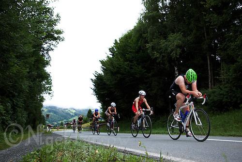 14 AUG 2010 - KITZBUEHEL, AUT - Jedermann Triathlon .(PHOTO (C) NIGEL FARROW)