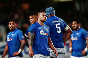 16th June 2017, Eden Park, Auckland, New Zealand; International Rugby Pasifika Challenge; New Zealand versus Samoa;  Alapati Leiua of Samoa reacts