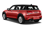 Car pictures of rear three quarter view of a 2020 Mini Clubman S 5 Door Wagon angular rear