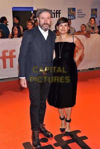 12 September 2017 - Toronto, Ontario Canada - Paul McGuigan, Natasha Noramly. 2017 Toronto International Film Festival - &quot;Film Stars Don't Die In Liverpool&quot; Premiere held at Roy Thomson Hall. <br /> CAP/ADM/BPC<br /> &copy;BPC/ADM/Capital Pictures