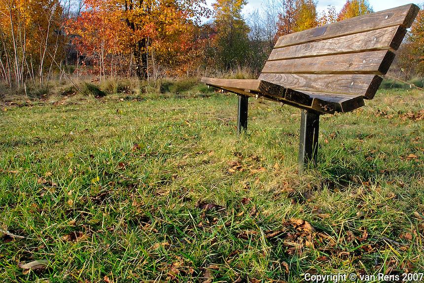 Simple Park Bench