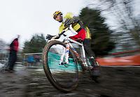 Picture by Allan McKenzie/SWpix.com - 10/12/17 - Cycling - HSBC UK National Cyclo-Cross Championships - Round 5, Peel Park - Bradford, England - Ian Field.