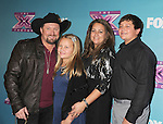 LOS ANGELES, CA - DECEMBER 20: Tate Stevens and family attend the FOX's 'The X Factor' Season Finale - Night 2 at CBS Televison City on December 20, 2012 in Los Angeles, California.