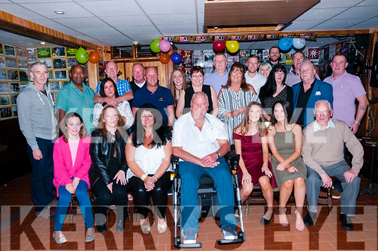 50th Birthday: Garry Carter, Listowel celebrating his 50th birthday with family & friends at Mike the Pies Bar, Listowewl on Saturday night last.