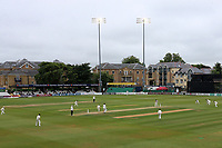 Play commences under the floodlights during Essex CCC vs Middlesex CCC, Specsavers County Championship Division 1 Cricket at The Cloudfm County Ground on 28th June 2017