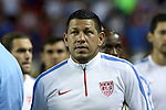 22 July 2015: Nick Rimando (USA). The United States Men's National Team played the Jamaica Men's National Team at the Georgia Dome in Atlanta, Georgia in a 2015 CONCACAF Gold Cup semifinal match. Jamaica won the game 2-1.
