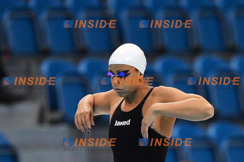Arianna Barbieri Italy Women's 100m Backstroke.London 29/7/2012 Aquatics Centre.London 2012 Olympic games - Olimpiadi Londra 2012.Swimming - Nuoto.Foto Andrea Staccioli Insidefoto