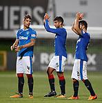 Fabio Cardoso, Eduardo Herrera and Daniel Candeias