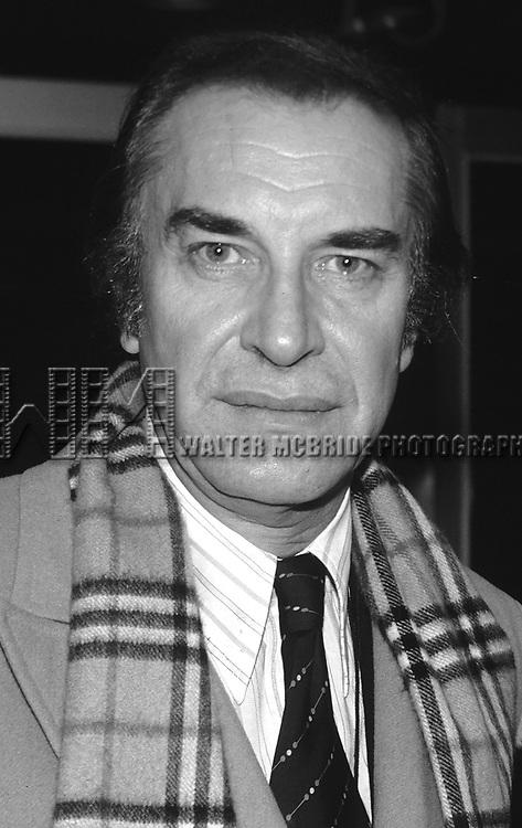 Martin Landau photographed in New York City in 1981.