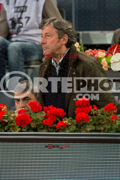 Manolo Sanchis and Jesus Alvarez during ATP Semi-Finals Mutua Madrid Open Tennis 2016 in Madrid, May 07, 2016. (ALTERPHOTOS/BorjaB.Hojas) /NortePhoto.com