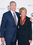 Katie Couric & Brian Williams at Stand Up to Cancer held at Sony Picture Studios in Culver City, California on September 10,2010                                                                               © 2010 Hollywood Press Agency