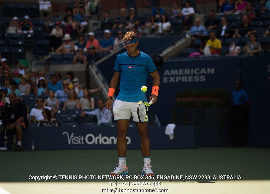 RAFAEL NADAL (ESP)<br /> <br /> TENNIS - THE US OPEN - FLUSHING MEADOWS - NEW YORK - ATP - WTA - ITF - GRAND SLAM - OPEN - NEW YORK - USA - 2016  <br /> <br /> <br /> <br /> &copy; TENNIS PHOTO NETWORK