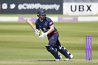 Steven Croft of Lancashire CCC pushes into the off side for a single during Middlesex vs Lancashire, Royal London One-Day Cup Cricket at Lord's Cricket Ground on 10th May 2019