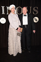 Lord and Lady Fellowes<br /> arriving for the BFI Luminous Fundraising Gala 2017 at the Guildhall , London<br /> <br /> <br /> &copy;Ash Knotek  D3316  03/10/2017