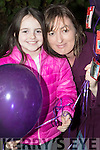 Fiona and Linda O'Connor, Tralee, pictured at the Balloon release in Tralee Town Park on Sunday last.