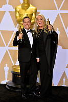 Lee Unkrich &amp; Darla K. Anderson at the 90th Academy Awards Awards at the Dolby Theartre, Hollywood, USA 04 March 2018<br /> Picture: Paul Smith/Featureflash/SilverHub 0208 004 5359 sales@silverhubmedia.com