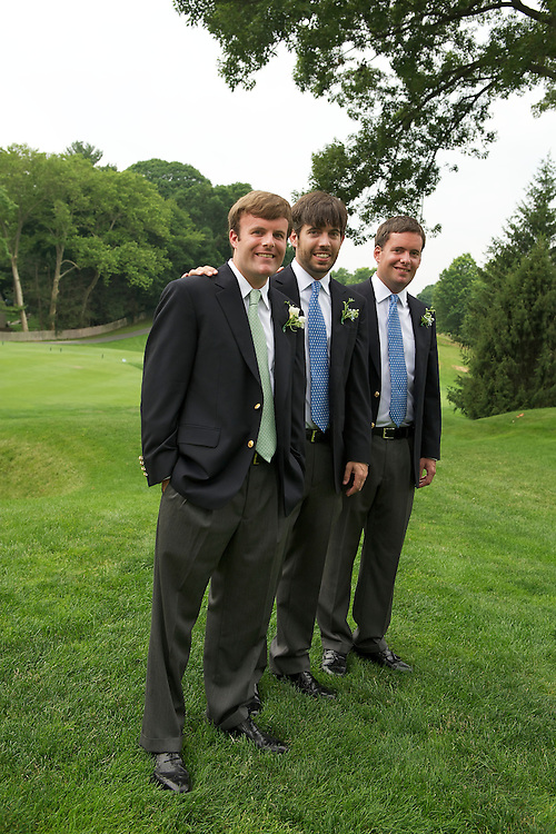 The groom with his brother and best man.