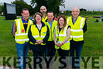 Open Air Cinema at the Killarney Gardens last Tuesday evening. Pictured are Killarney Chamber of Commerce and Tourism volunteers and organisers l-r Anto Cronin, Bernadette Randles, Martin O'Brien, Denis Cronin, Maeve McGrath and Michael Moynihan.